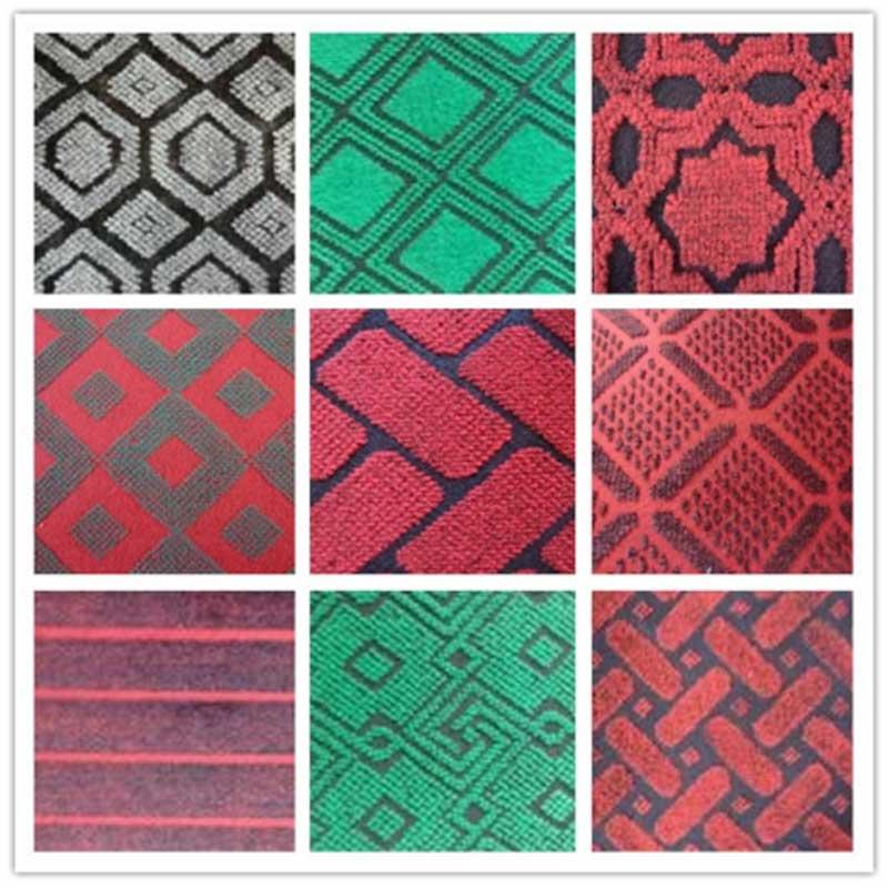Double Color Jacquard Carpet
